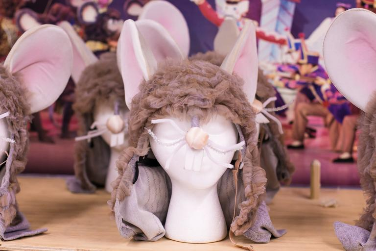 Headpieces of the mice costumes