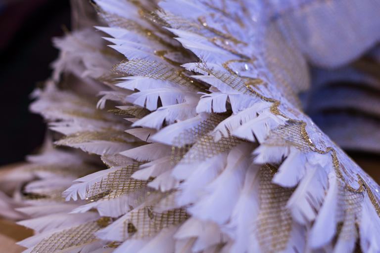 Angel's wings for Act II