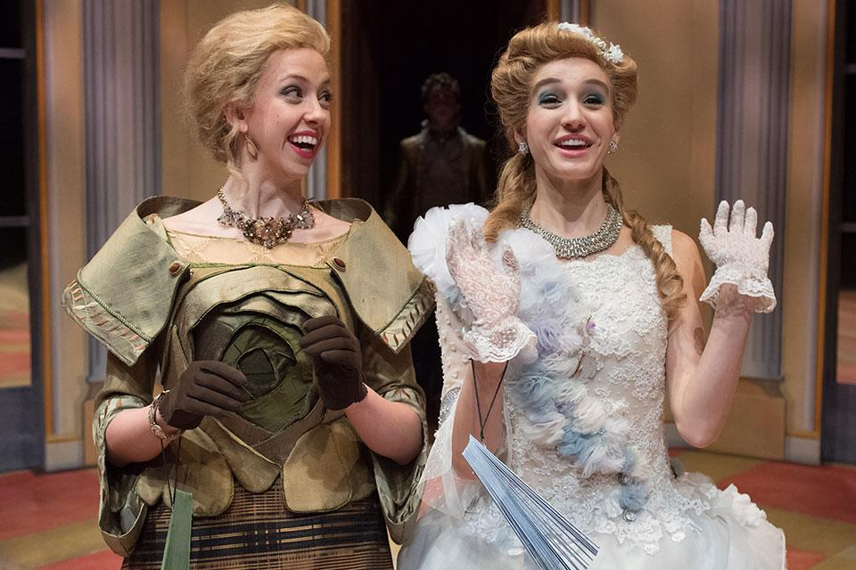 Lady Townley and Emilia. / Photo: Peter Mueller