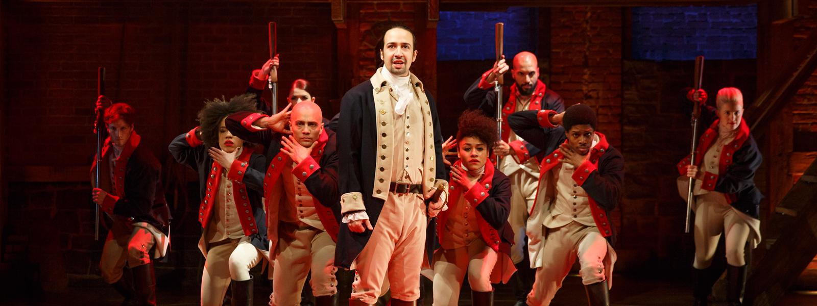 Hamilton style: alumnus designs costumes for Broadway's hottest show | READ MORE >>
