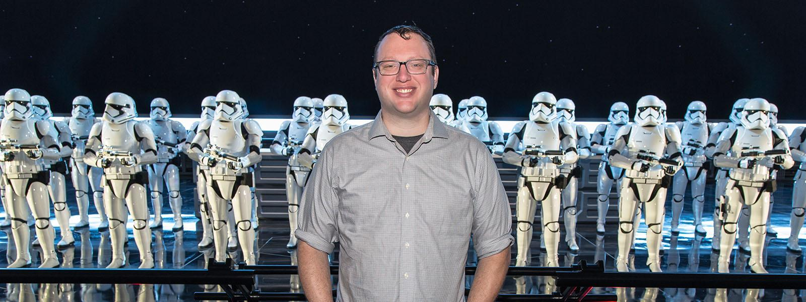 "Nathaniel Gearhart shares his journey from the prop shop to ""Star Wars: Galaxy's Edge"" 