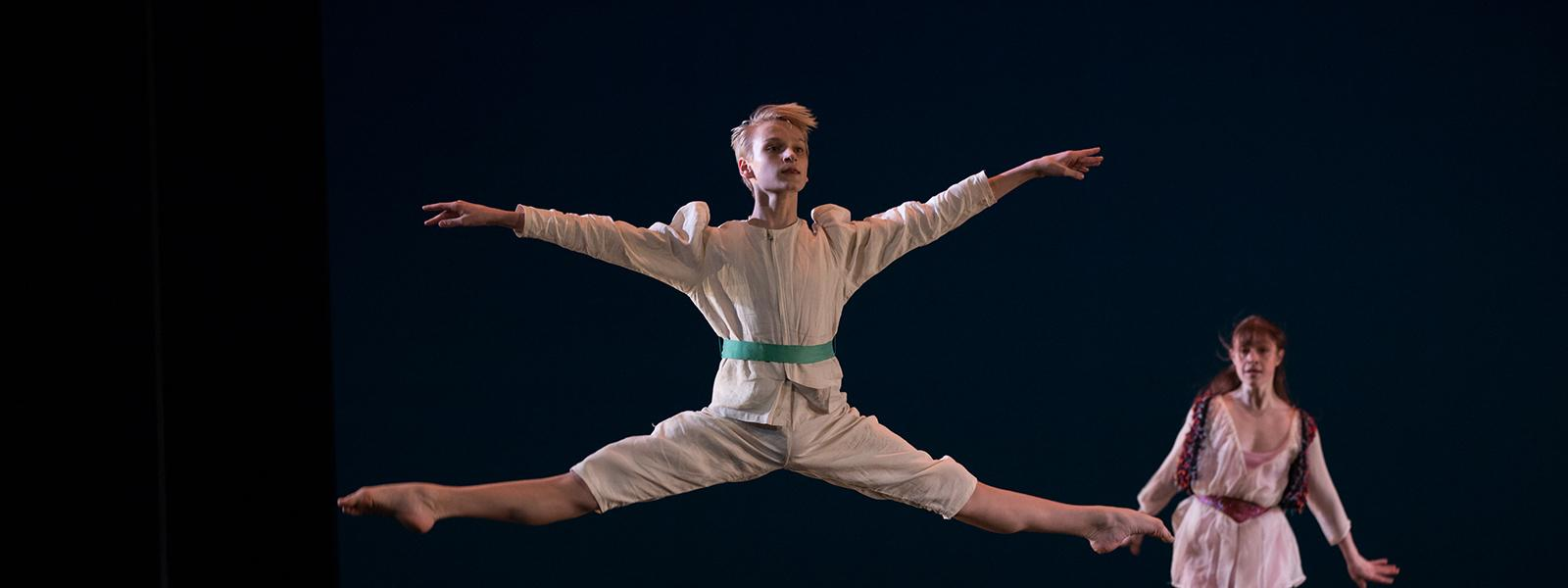 "UNCSA dancers performing ""Pulcinella"" by Douglas Dunn / Photo: Rosalie O'Connor"