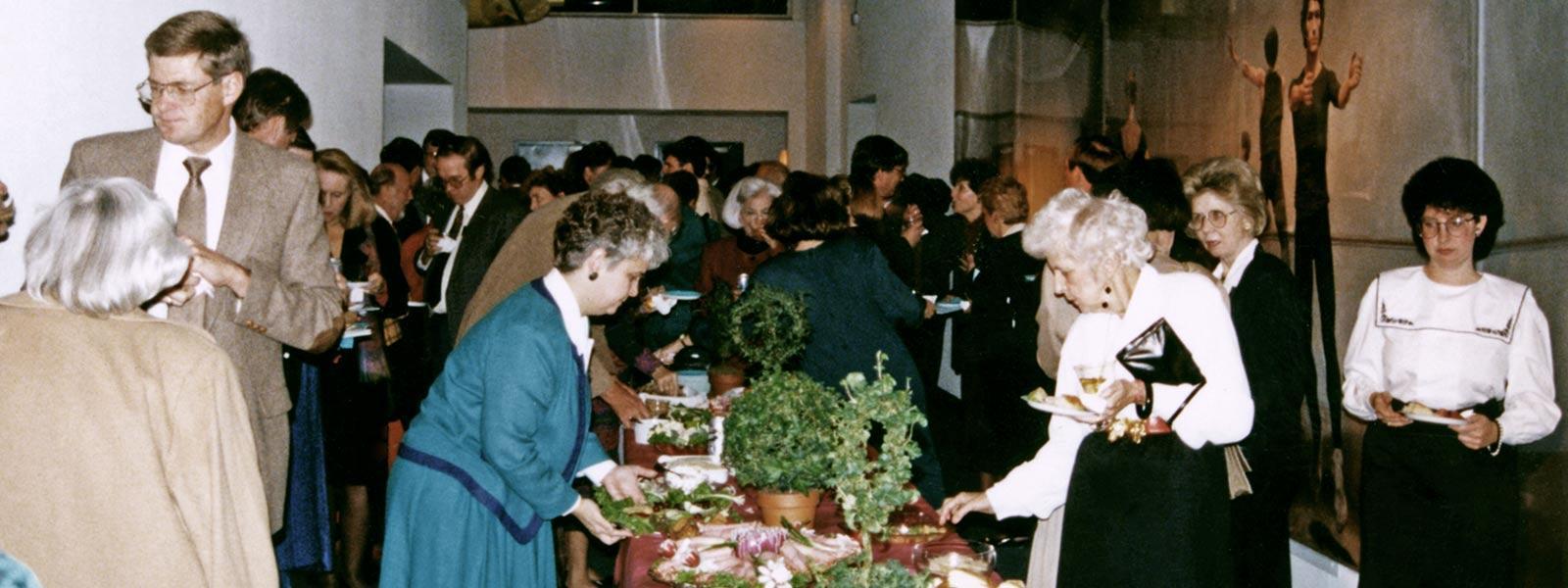 Associates event, 1992.