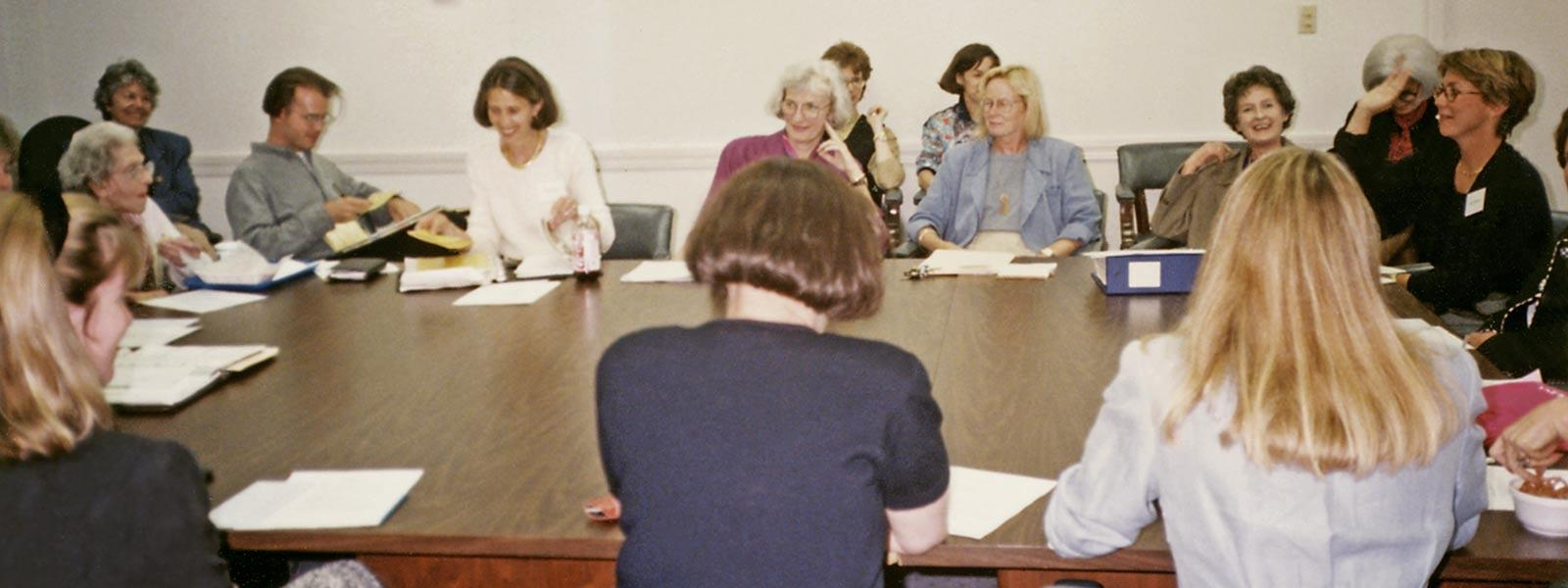 Board meeting, 1994.