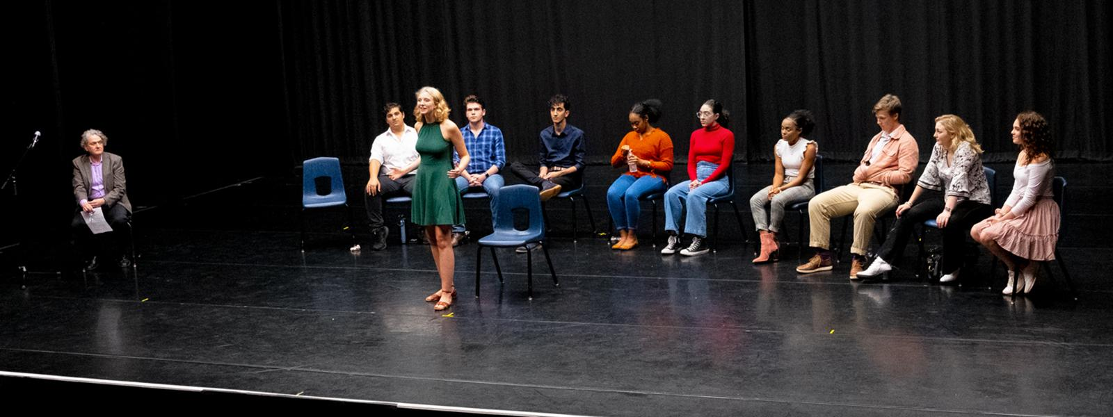 Selected first year Drama students reprise their monologues