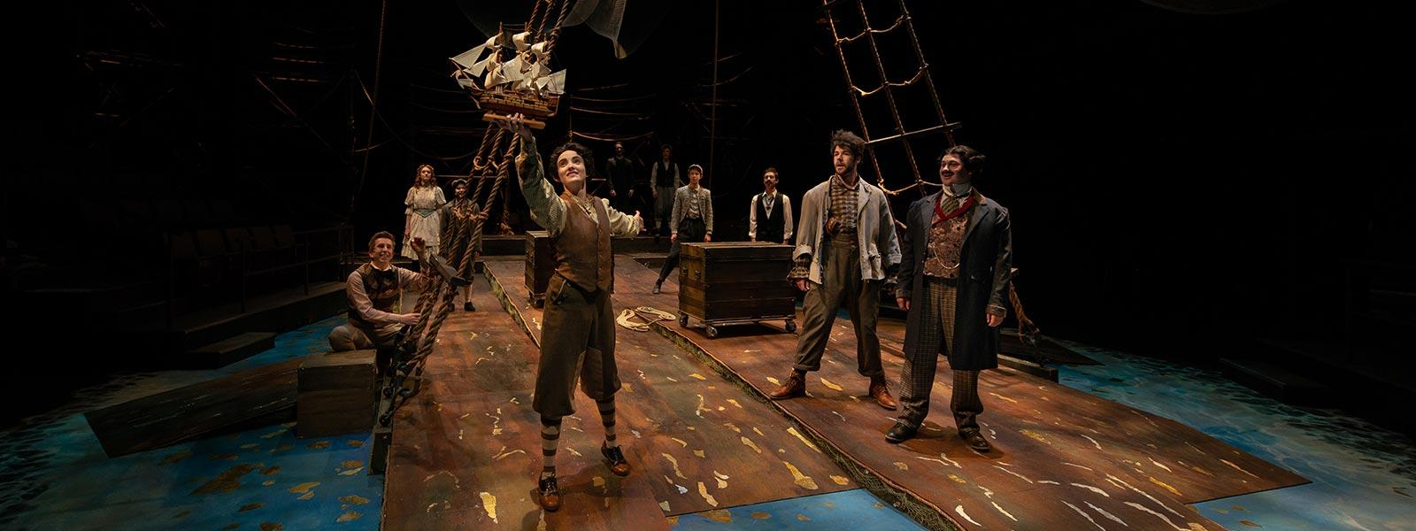 """Peter and the Starcatcher"" / Photo: Peter Mueller"