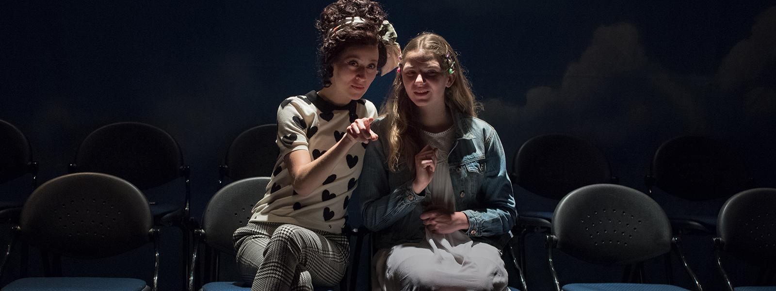 "Siena Werber and Cricket Brown in ""Middletown"""
