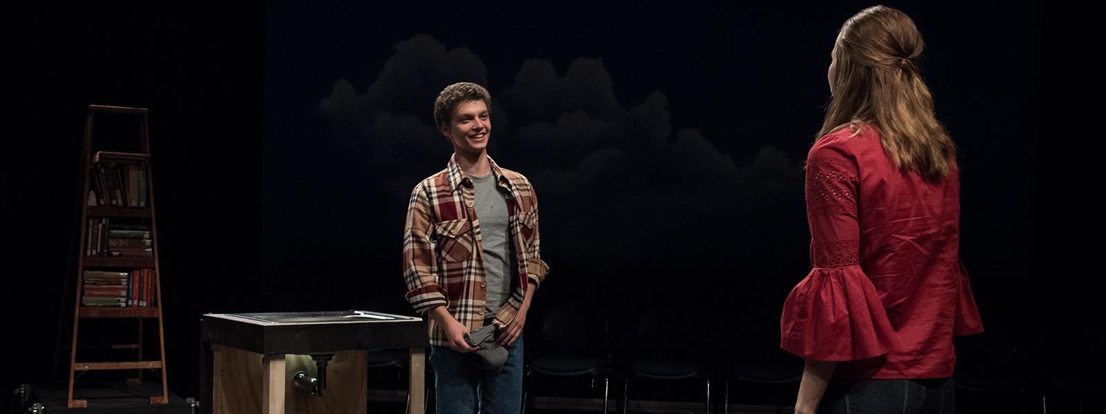 """Ben Weinswig and Katie Weinstein in """"Middletown"""""""