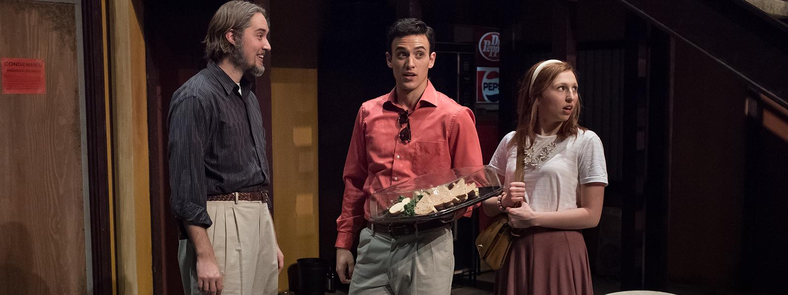 "Dyer Rhoads, Christian Thomason and Gracey Falk in ""Airline Highway"""