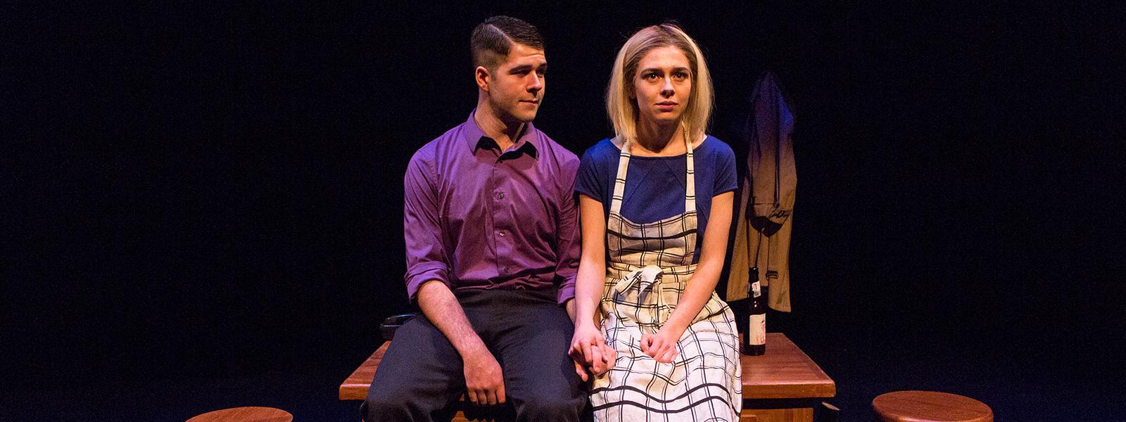 "Everett Graham and Maggie Gayford, ""Blue Window"""