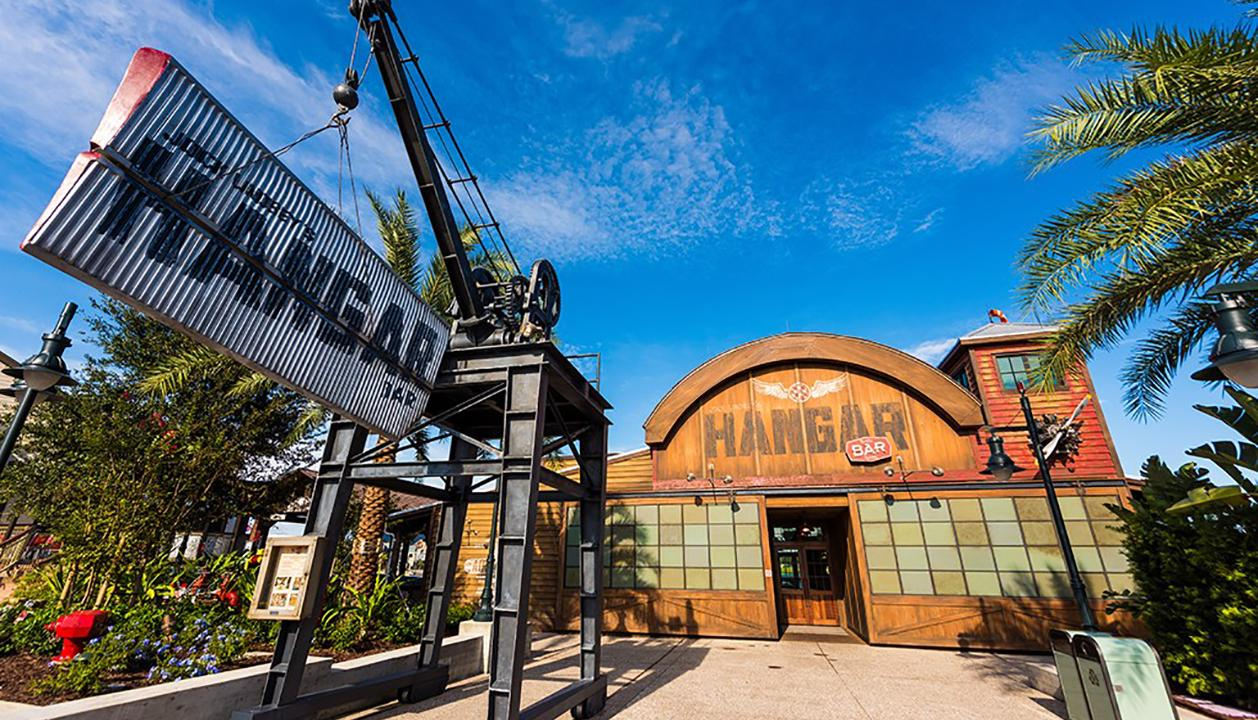 Jock Lindsey's Hangar Bar, located at Disney Springs in Kissimmee, Florida, was set dressed by alumnus Nathaniel Gearhart.