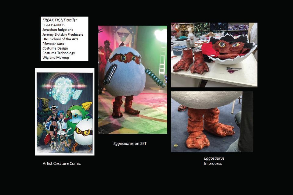 Eggosaurus concept to finished production