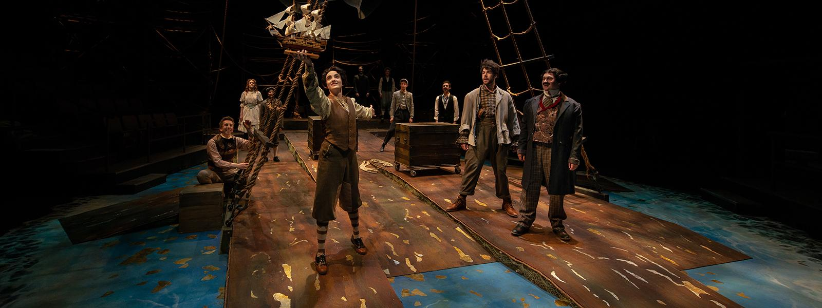 Peter and the Starcatcher / Photo: Peter J. Mueller