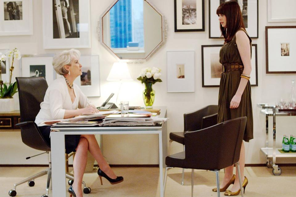 """The Devil Wears Prada"" used props from the Eclectic/Encore Props inventory"