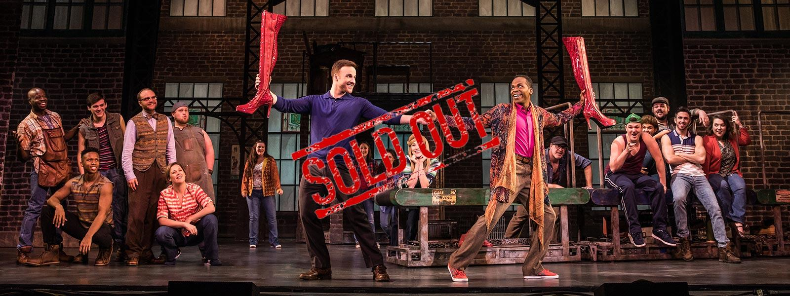 "SOLD OUT / The Broadway tour of ""Kinky Boots"" comes to the historic Stevens Center on May 23"