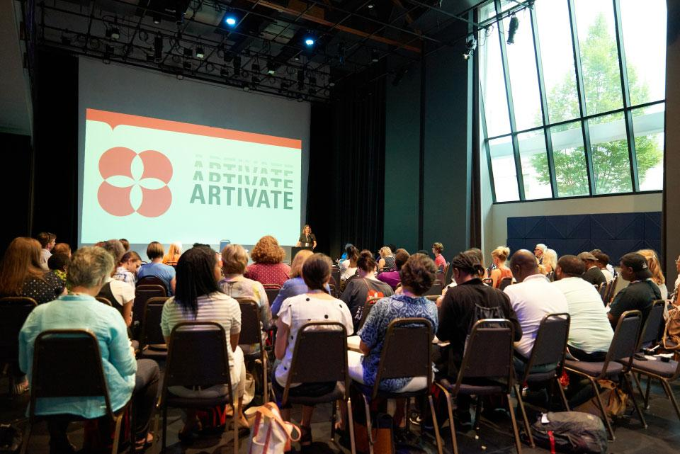 Attendees of the 2019 Artivate summit.
