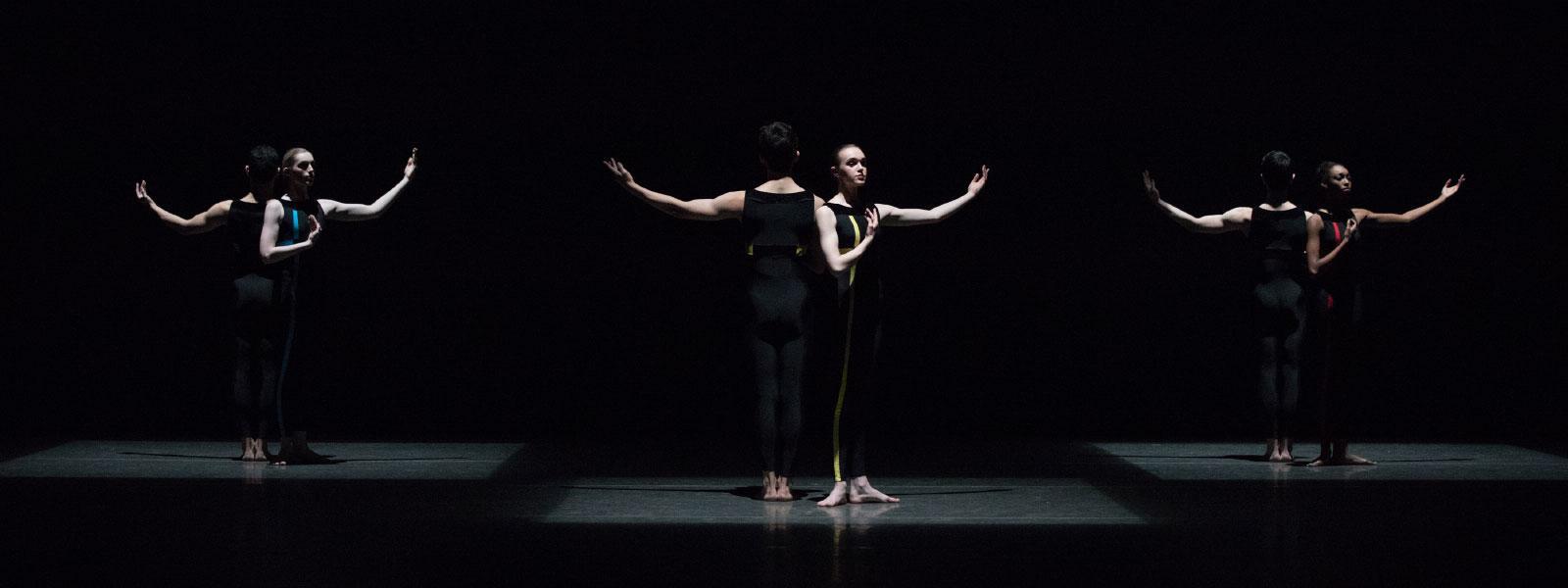 """Mondrian Duets"" by Brenda Daniels / Photo: Rosalie O'Connor"