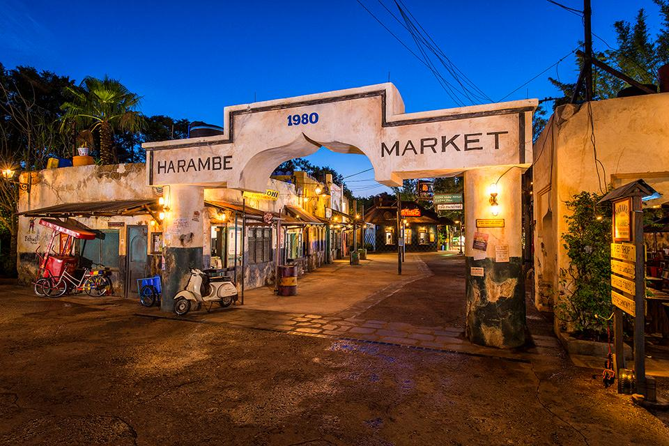 Gearhart collaborated on the recent expansion of the Harambe Marketplace in Disney's Animal Kingdom, specializing in a variety of African street foods. / Photo: Disney