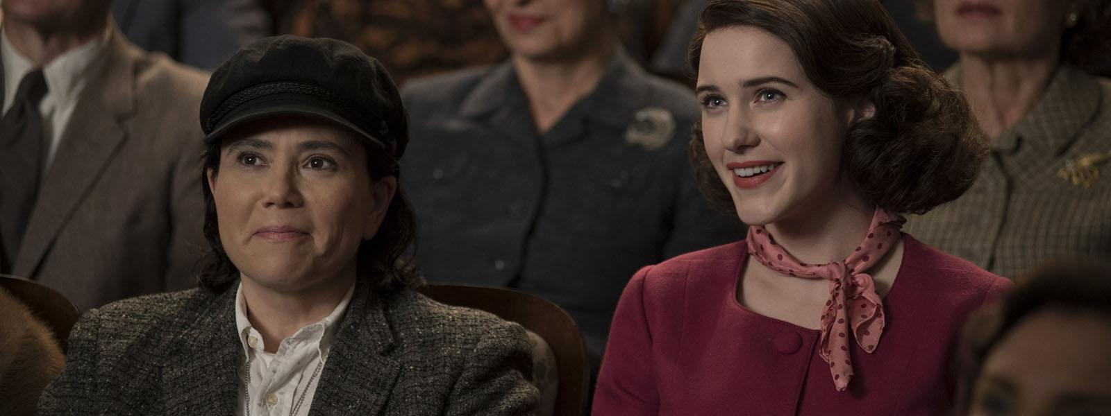 """See alumni work from the schools of Drama, Design & Production and Music in """"The Marvelous Mrs. Maisel"""" on Amazon Prime"""