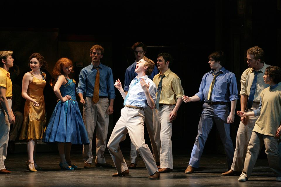 "UNCSA's 2007 production of ""West Side Story."""
