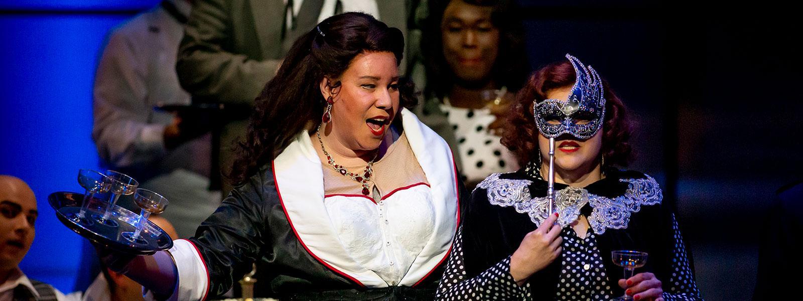 "Lucia Lucas as Don Giovanni in Tulsa Opera's 2019 production of ""Don Giovanni."" / Courtesy: Tulsa Opera"