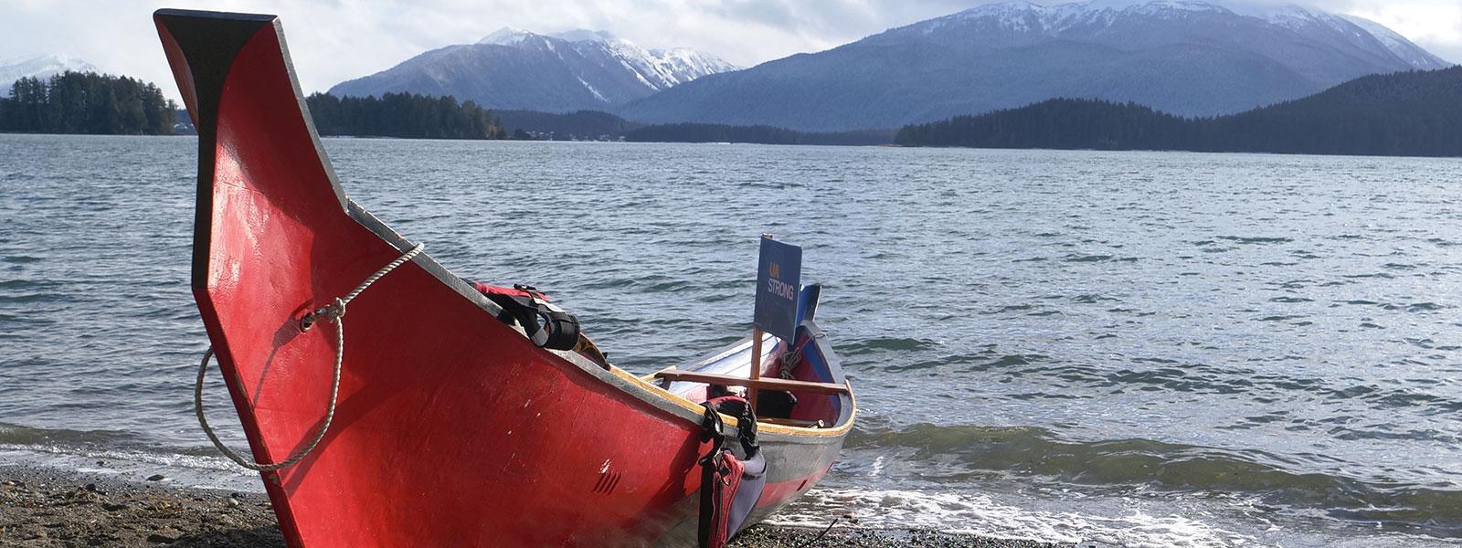 Jibba dugout canoe by Wayne Price / Photo: Pat Race