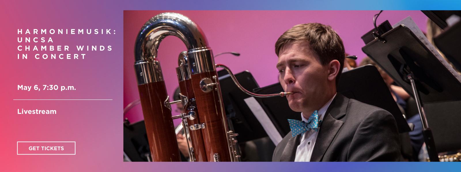 Harmoniemusik: UNCSA Chamber Winds in Concert - Livestream