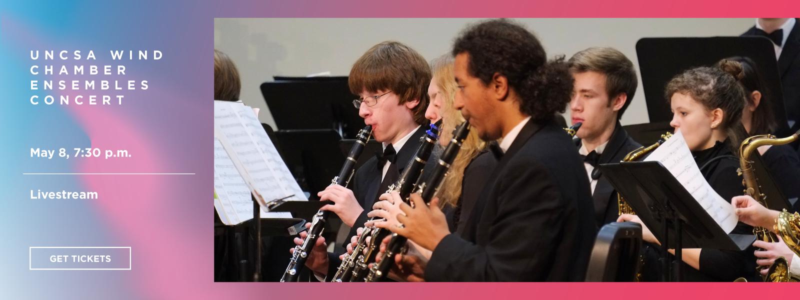 UNCSA Wind Chamber Ensembles Concert - Livestream