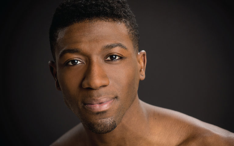 Da'Von Doane, guest teaching artist, fall semester      Former company artist with Dance Theatre of Harlem