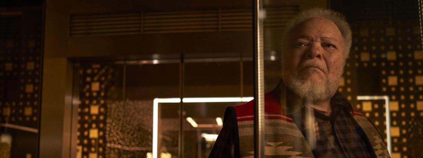 "Henderson in the Hulu miniseries ""Devs"""