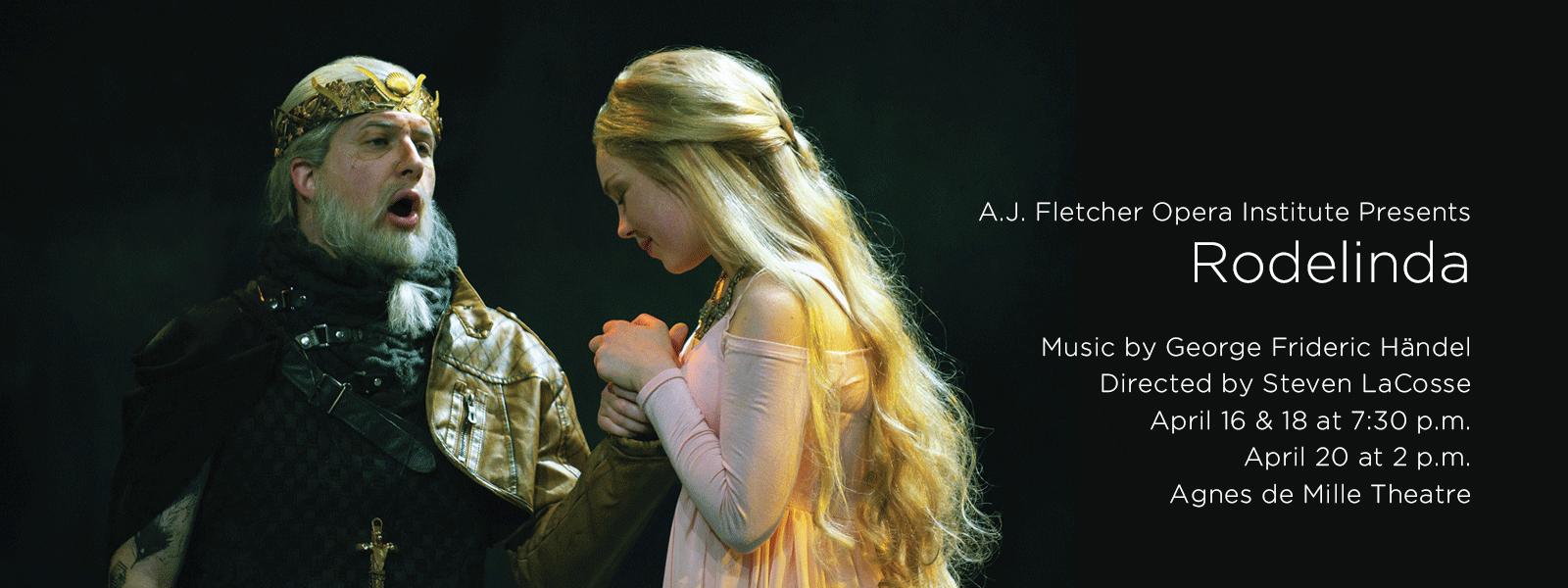 "Enjoy the A.J. Fletcher Opera Institute's final performance of the season ""Rodelinda"">>BUY TICKETS"