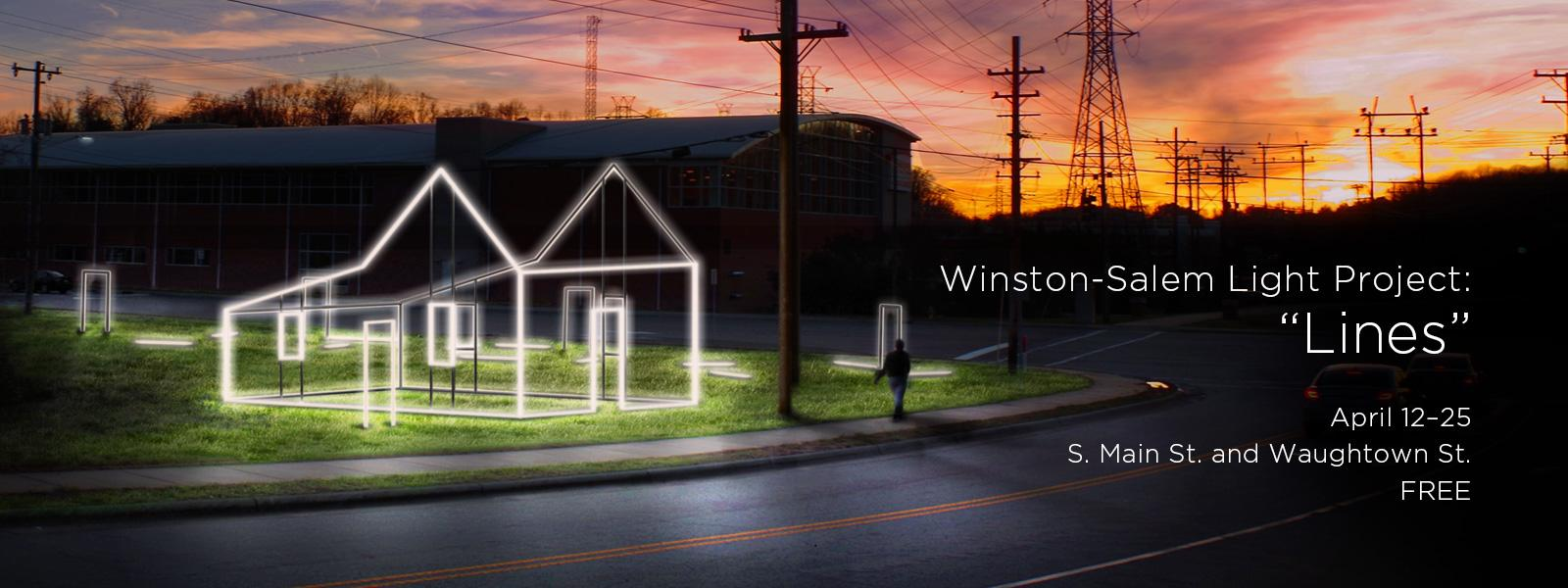 The 11th annual Winston-Salem Light Project>>FREE EVENT