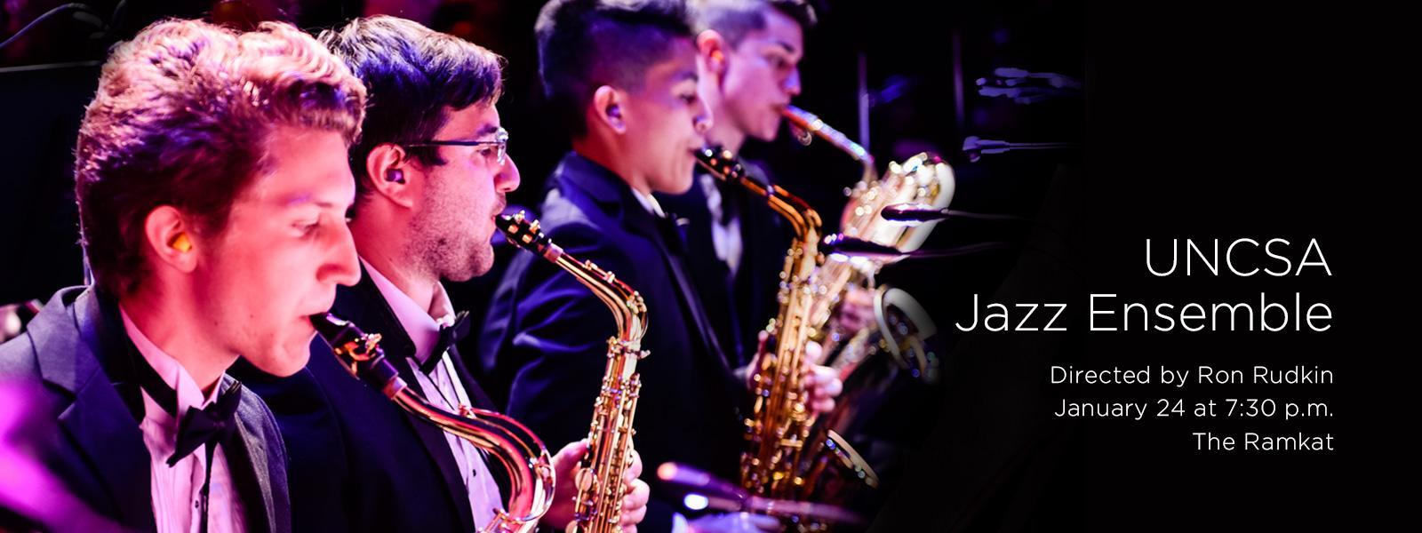 Our award-winning Jazz Ensemble performs a program of varied Big Band jazz styles in downtown Winston-Salem. >> BUY TICKETS
