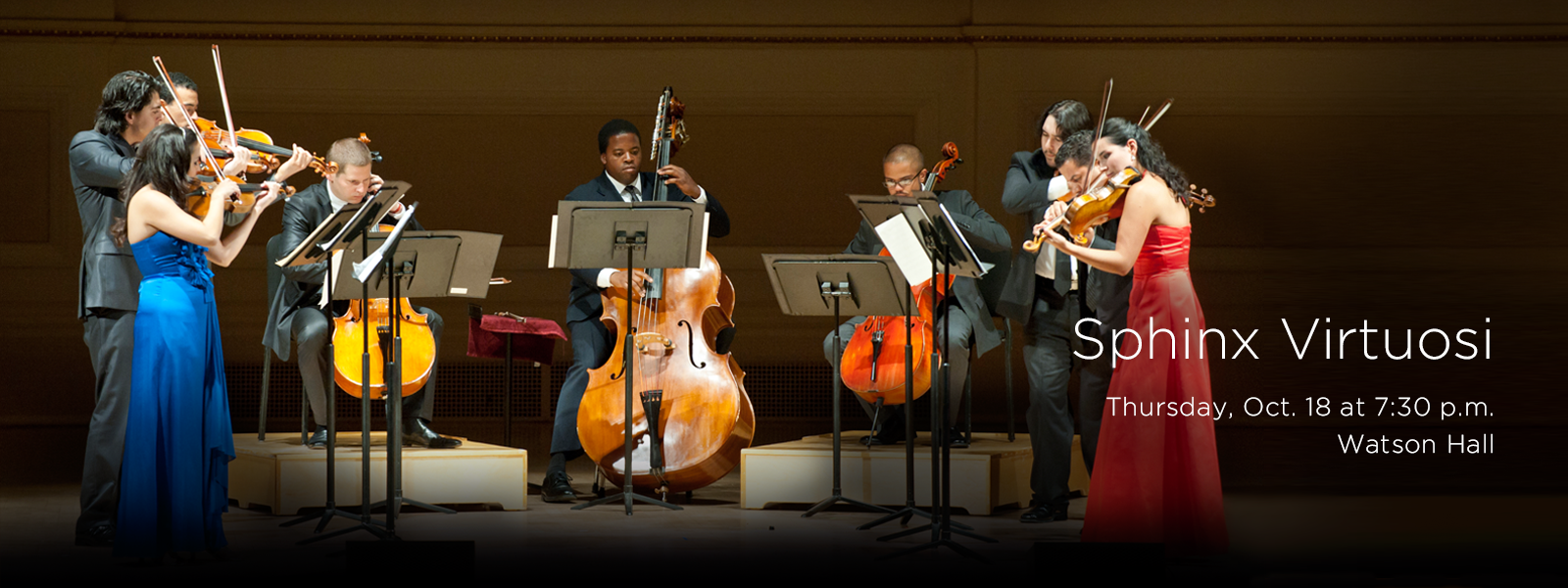 See one of the nation's most dynamic and diverse professional chamber orchestras perform right here at UNCSA >> BUY TICKETS