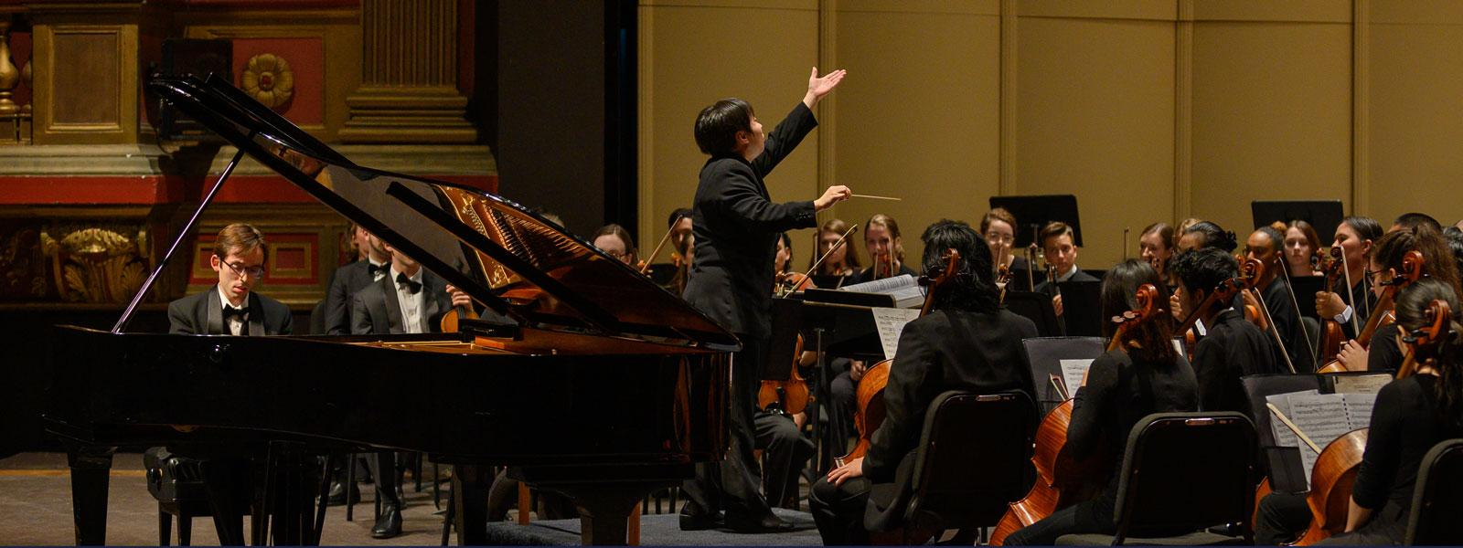 2019-20 Season Recap: Symphony Orchestra with Xian Zhang | READ MORE >>
