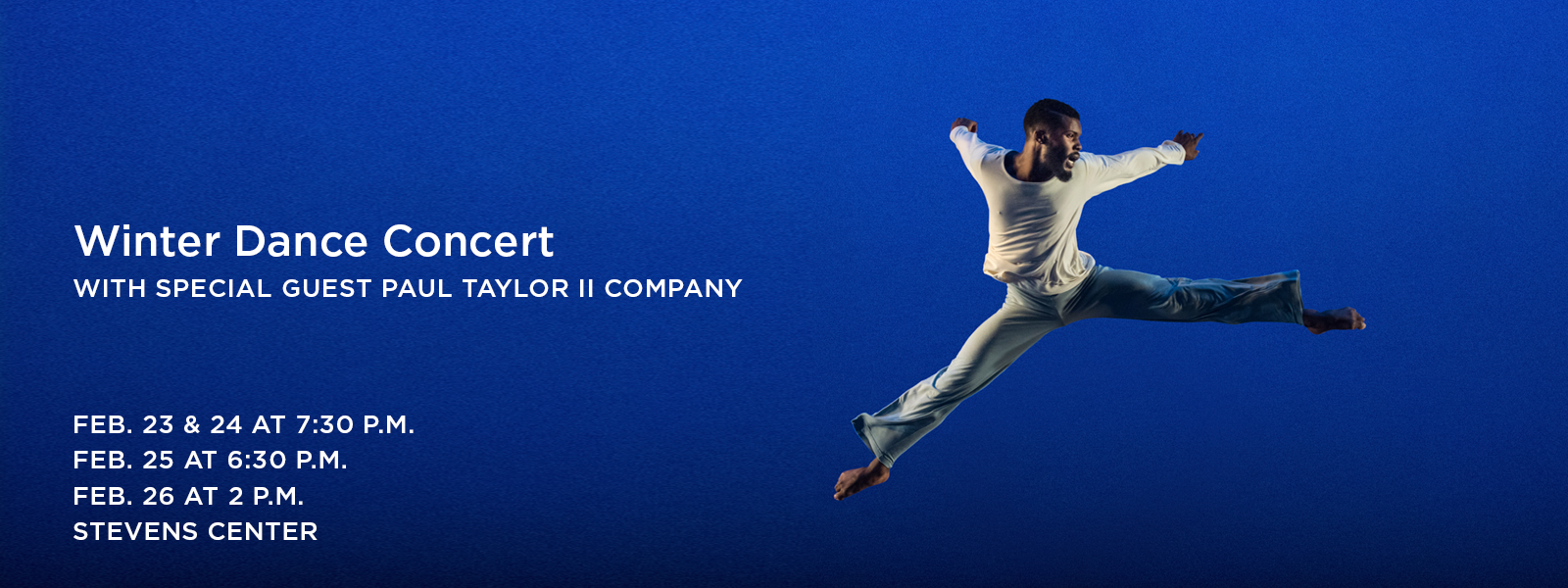 Classic meets cutting edge in this winter's dance showcase. >> BUY TICKETS