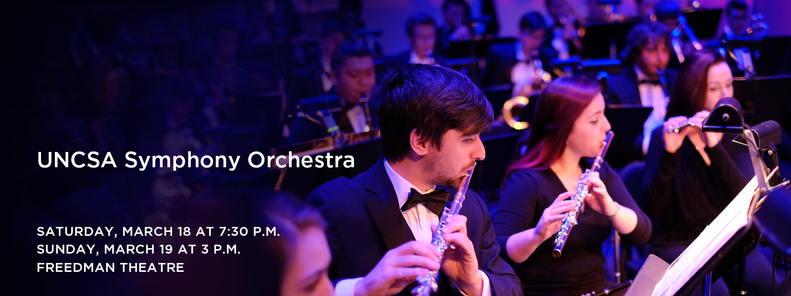 An immersive concert experience featuring works by Dvorak, Bloch, and Berlioz. >> BUY TICKETS