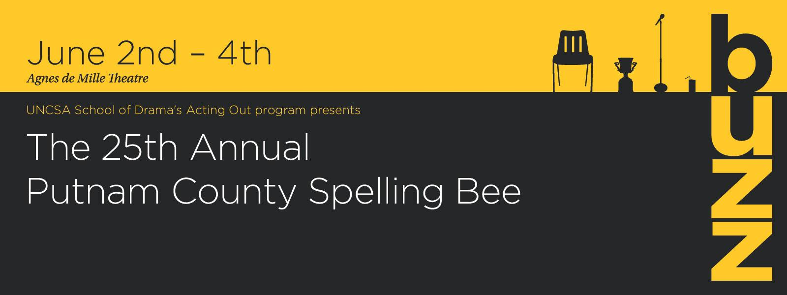 You've never seen a spelling bee this exciting before! >> BUY TICKETS