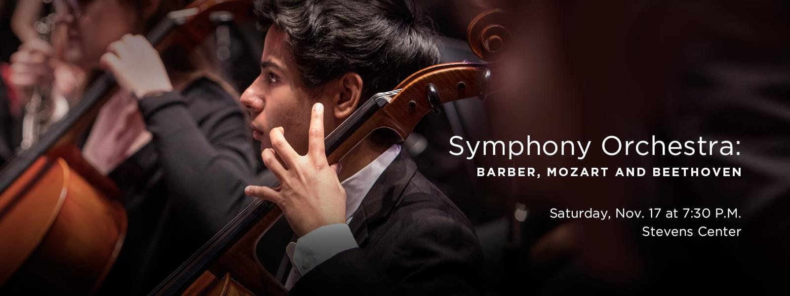 Maestro Joseph Young leads the UNCSA Symphony Orchestra in an exciting array of masterworks. >> BUY TICKETS