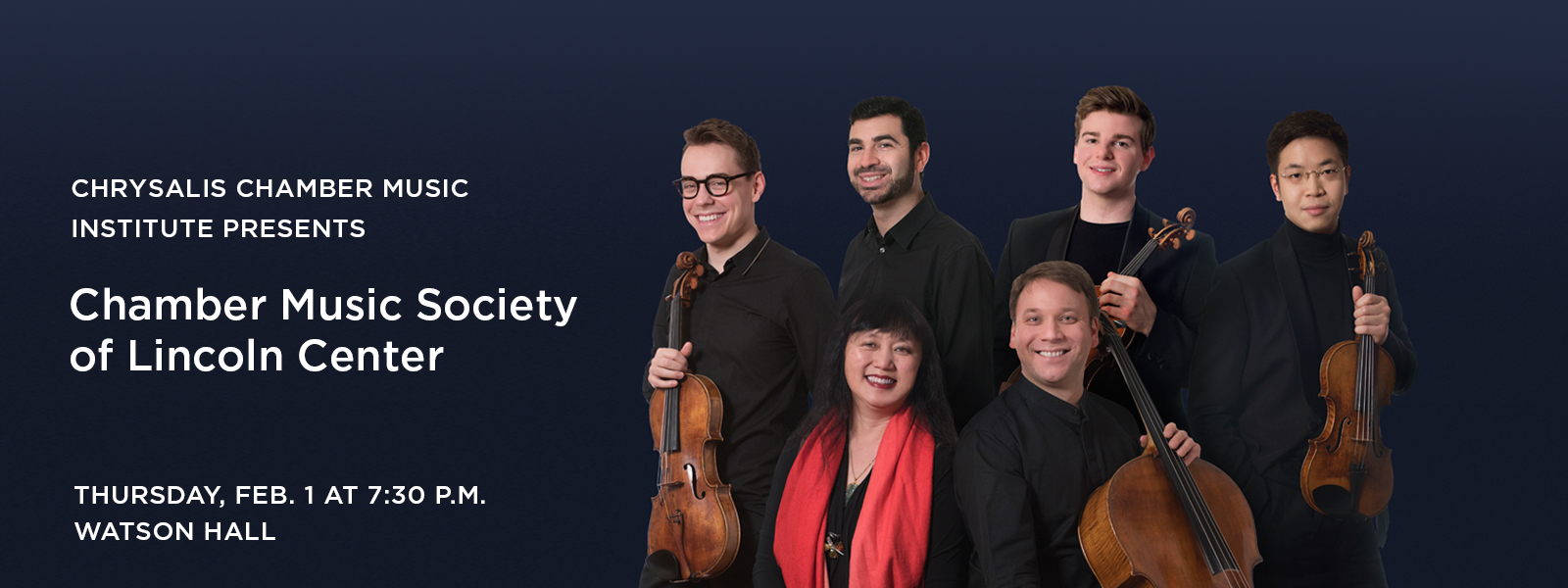 Hear the renowned ensemble perform works by Dvorak and Brahms >> BUY TICKETS