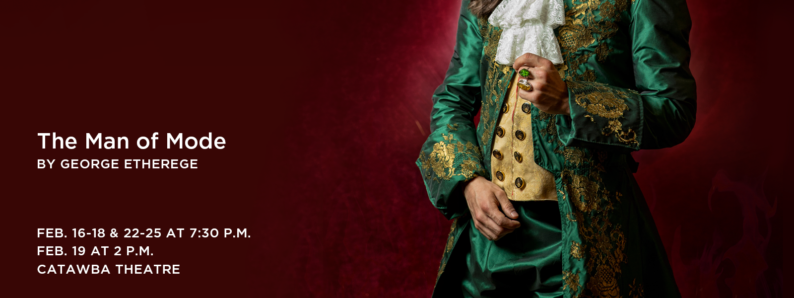 Romantic hijinks abound in this charming Restoration comedy. >> BUY TICKETS