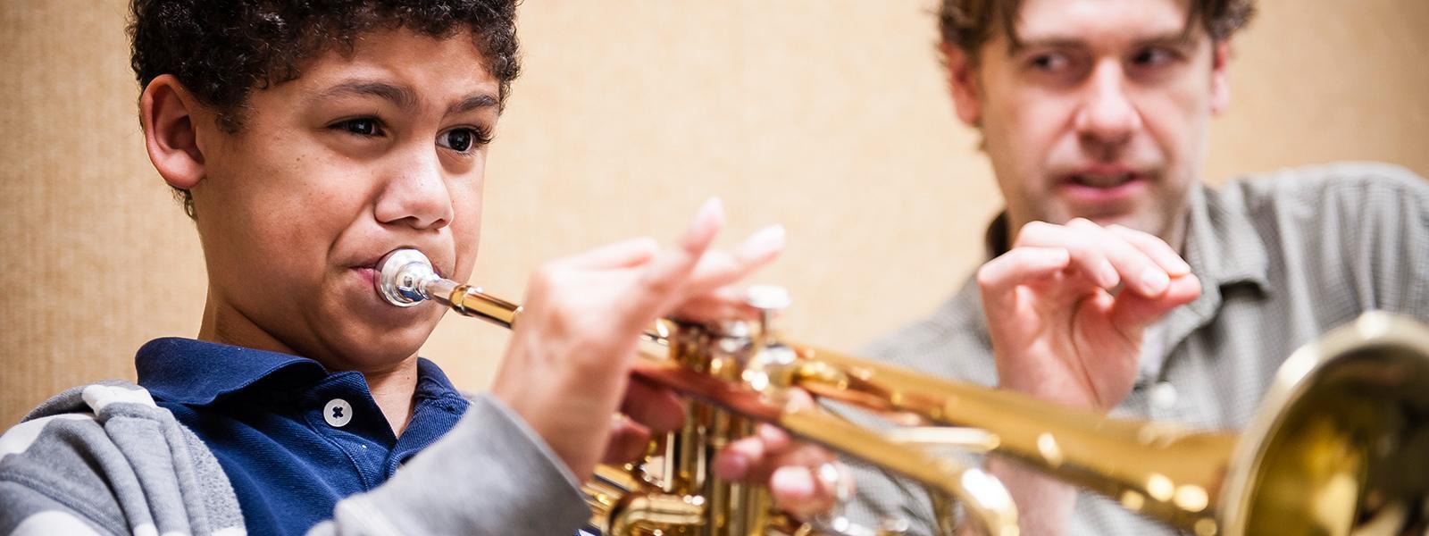 Private Trumpet Lessons / Photo: Christine Rucker