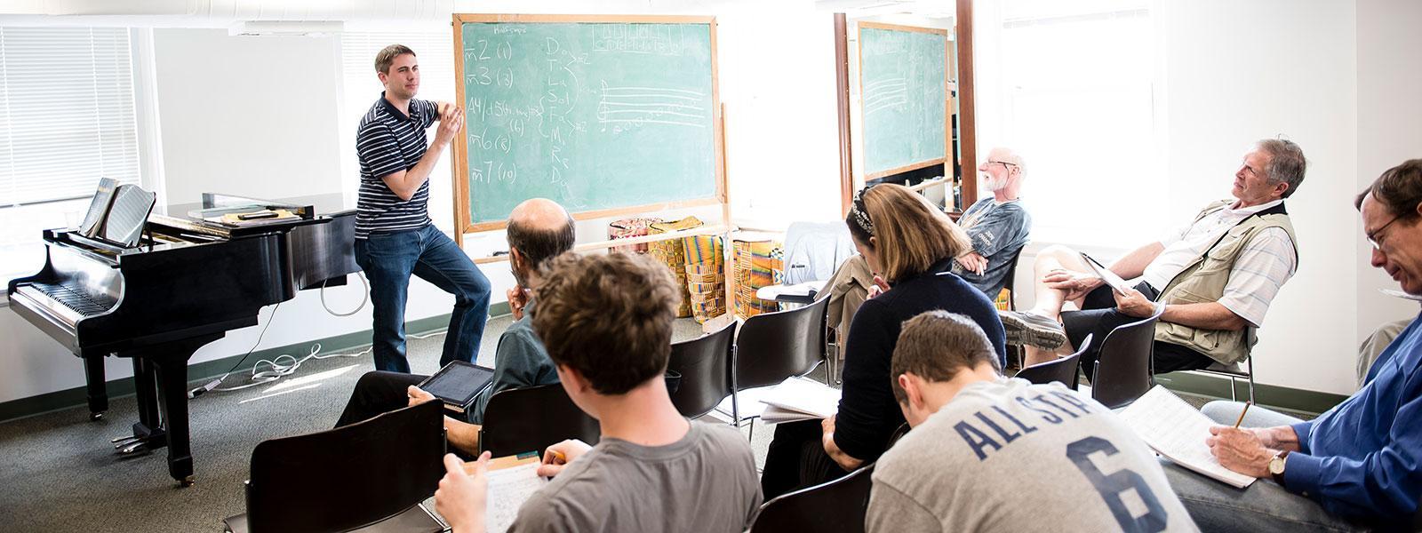 Music Theory Class / Photo: Christine Rucker