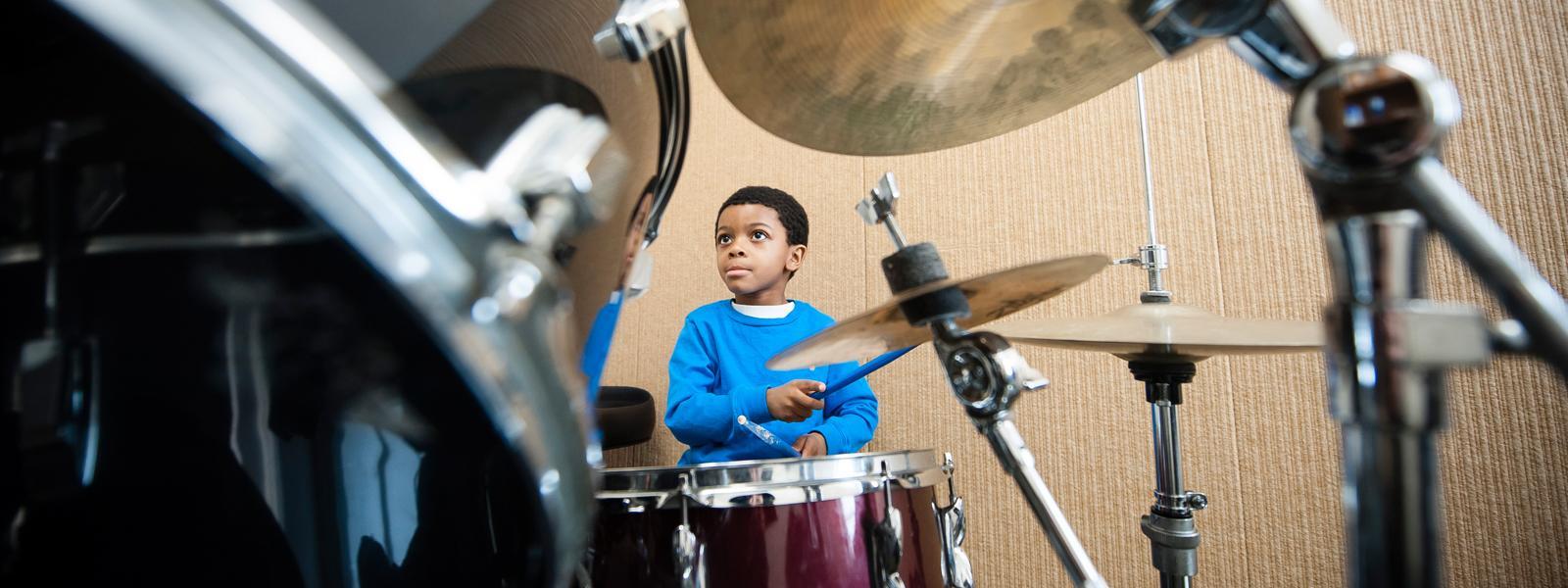 Percussion Lessons / Photo: Christine Rucker