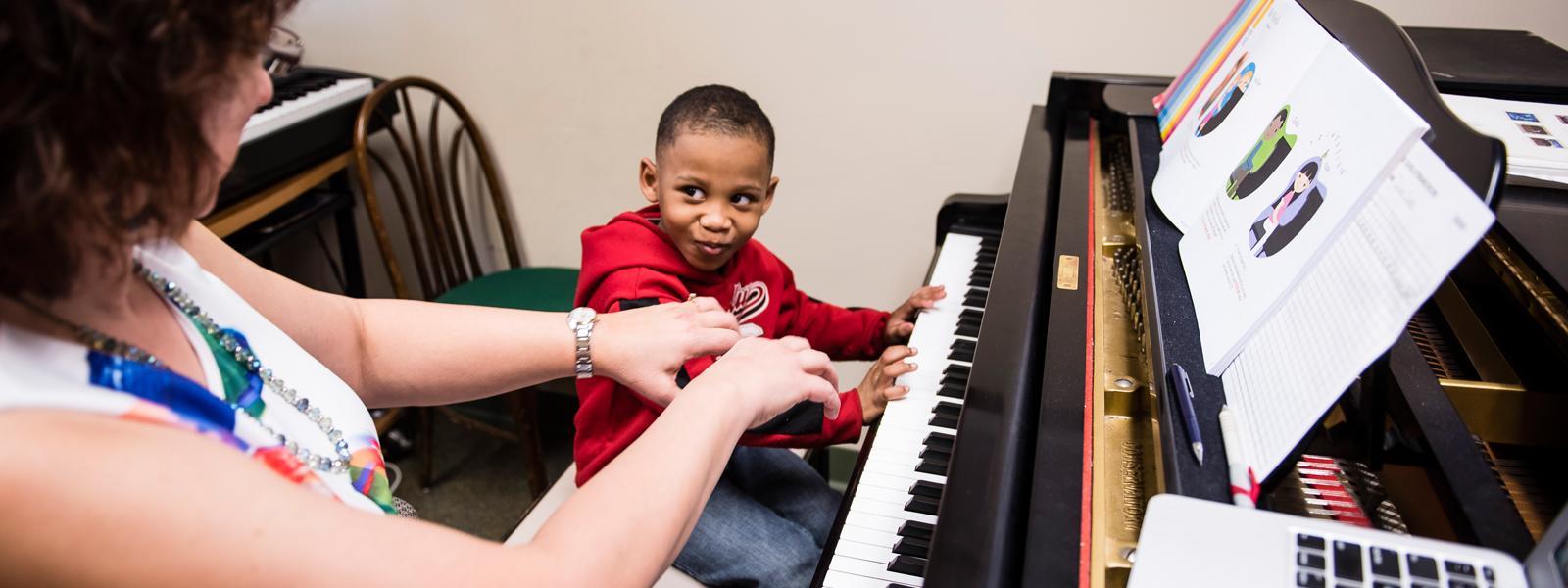Piano Lessons / Photo: Christine Rucker