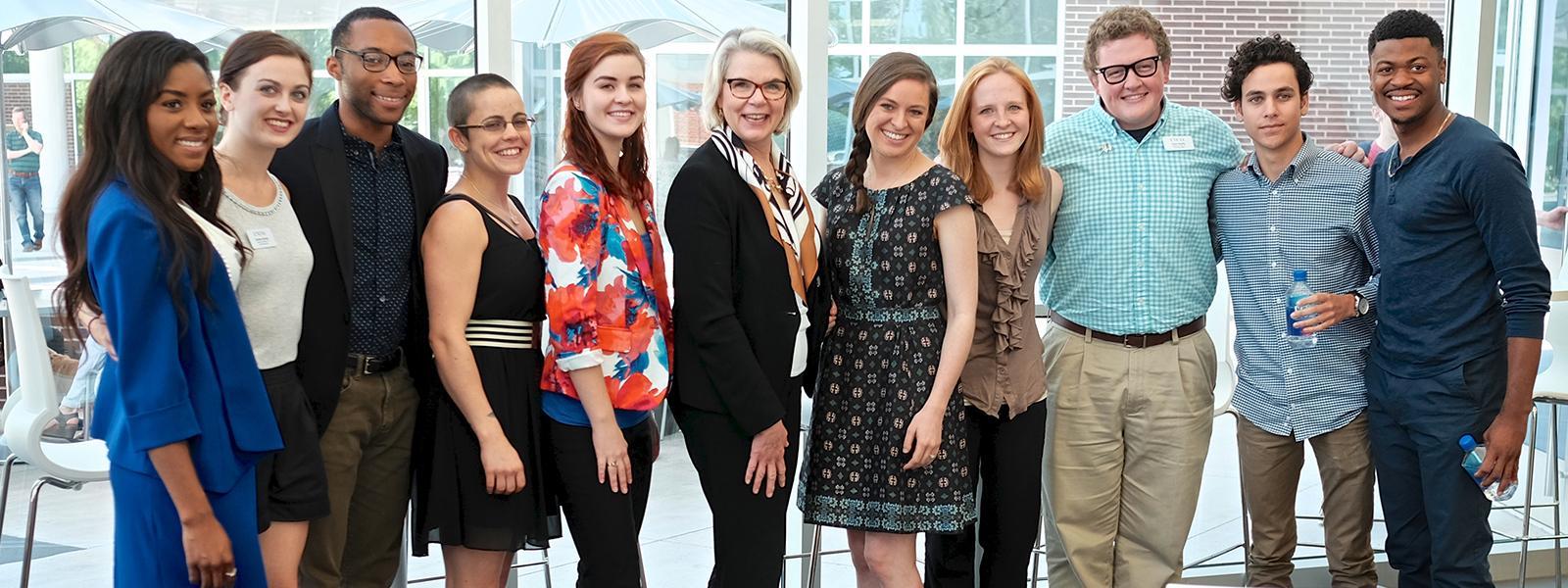 Margaret Spellings visits UNCSA