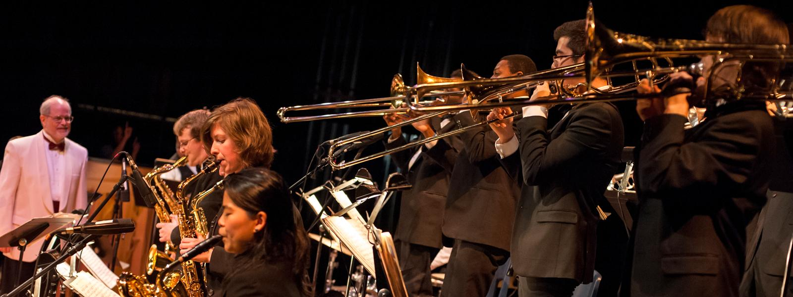 UNCSA Jazz Ensemble Swing Era Concert / Photo: S.D. Davis
