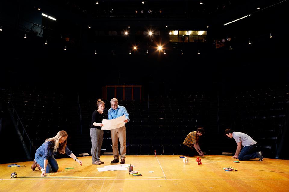 The stage in Freedman Theatre / Photo: Stacey van Berkel