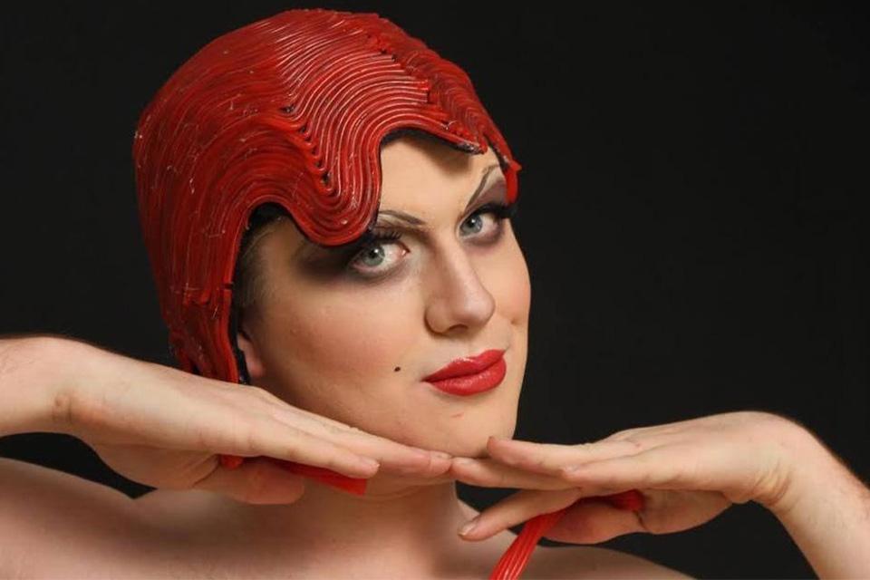 Undergraduate wig & makeup student work