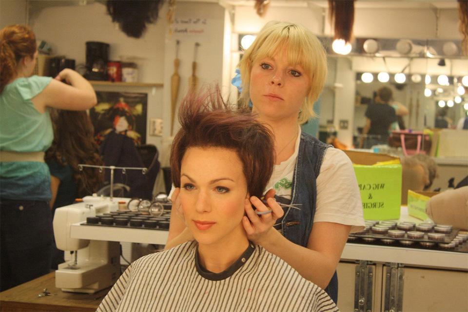 Graduate wig and makeup designs